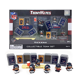 Houston Texans TeenyMates Team Set