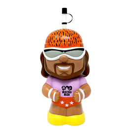Macho Man Big Sip Water Bottle