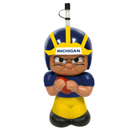Michigan Wolverines Big Sip Water Bottle