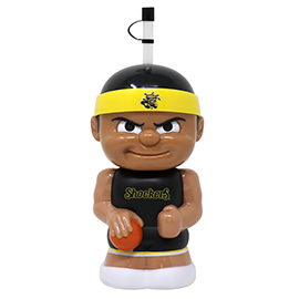 Wichita State B-Ball Big Sip Water Bottle
