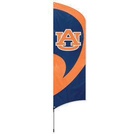 Auburn Tall Team Flag Kit with Pole