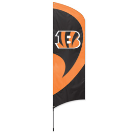 Cincinnati Bengals Tall Team Flag Kit with Pole