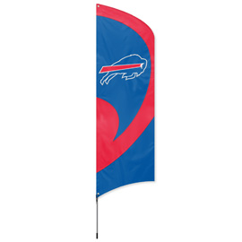 Buffalo Bills Tall Team Flag Kit with Pole