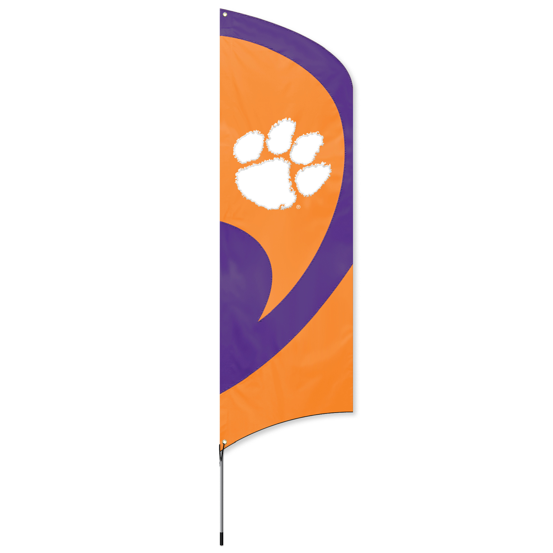 Clemson Tall Team Flag Kit