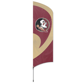Florida State Tall Team Flag Kit with Pole