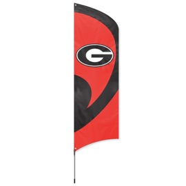 Georgia Tall Team Flag Kit with Pole