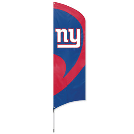 New York Giants Tall Team Flag Kit with Pole