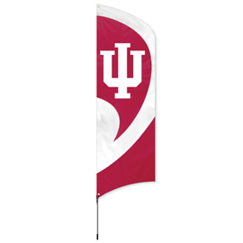 Indiana Hoosiers Tall Team Kit with Pole