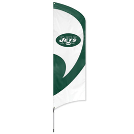 New York Jets Tall Team Kit with Pole