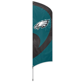 Philadelphia Eagles Tall Team Flag Kit with Pole