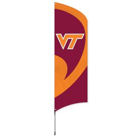 Virgina Tech Hokies Tall Team Kit with Pole