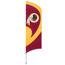 Washington Tall Team Flag Kit with Pole
