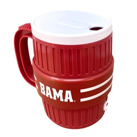 University of Alabama Water Cooler Mug